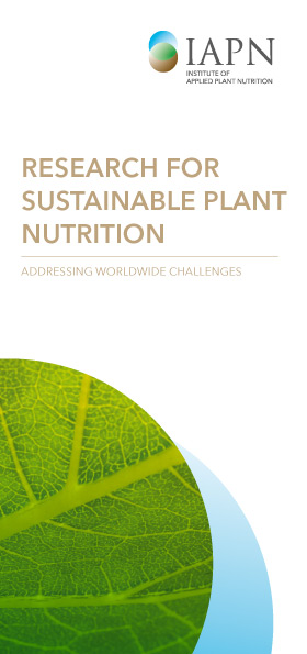 Deckblatt Research for sustainable plant nutrition