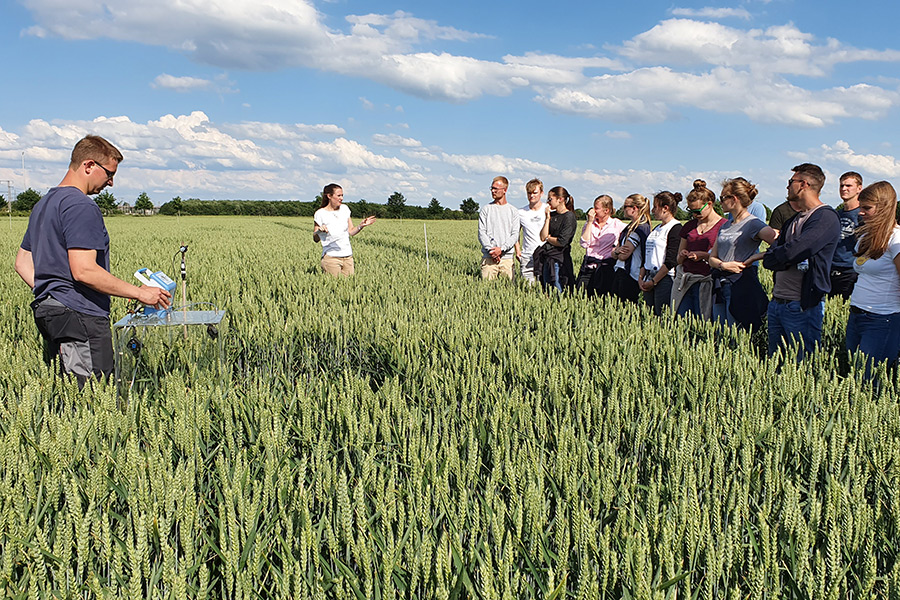 IAPN field trial in Ahlten (Photo: Dittert)
