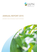 Titelblatt: Research on sustainable plant nutrition - Annual Report 2015