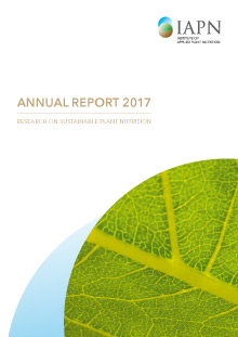 Titelblatt: Research on sustainable plant nutrition - Annual Report 2017