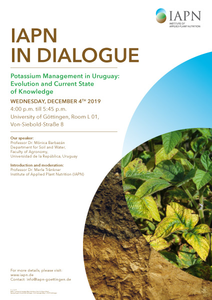 Poster with the announcement of IAPN in Dialogue
