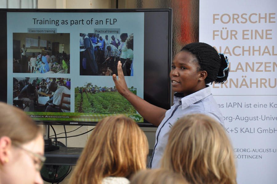 Christine Kyomugisha, Sasakawa Africa Association, 