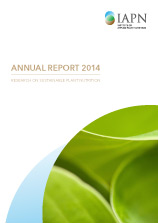 Titelblatt: Research on sustainable plant nutrition - Annual Report 2014